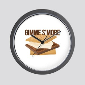 Gimme Smore Wall Clock