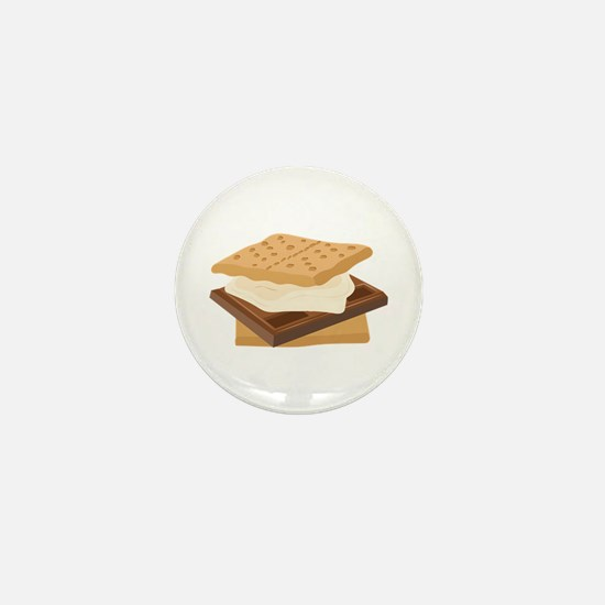 Smores Mini Button