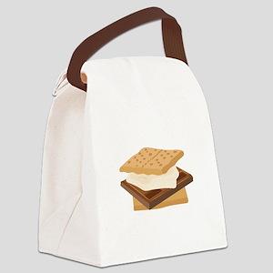 Smores Canvas Lunch Bag