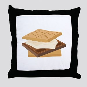 Smores Throw Pillow