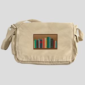 Book Shelf Messenger Bag