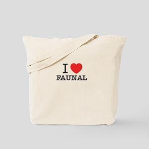 I Love FAUNAL Tote Bag