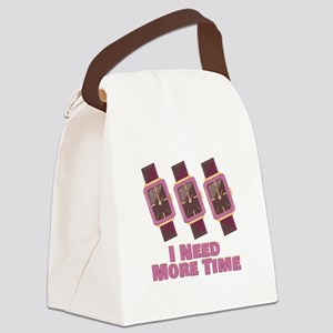 Need More Time Canvas Lunch Bag