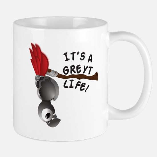 It's A Greyt Life Mugs
