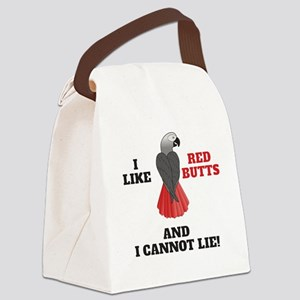 I Like Red Butts Canvas Lunch Bag