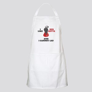 I Like Red Butts Apron