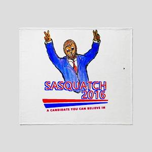 Sasquatch2016 Throw Blanket