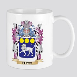 Flynn Coat of Arms (Family Crest) Mugs