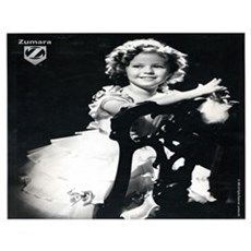 Shirley Temple Chair Wall Art Poster