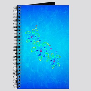 3 Tie Dyed Honu Turtles Journal