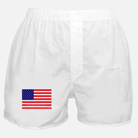 Good men with guns Boxer Shorts