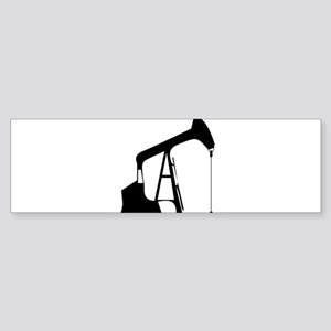Oil Rig Bumper Sticker
