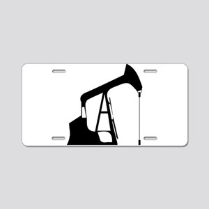 Oil Rig Aluminum License Plate