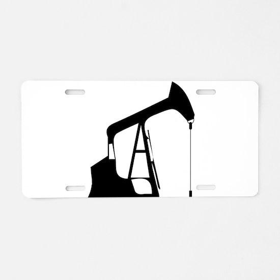 Oil Rig Aluminum License Plate