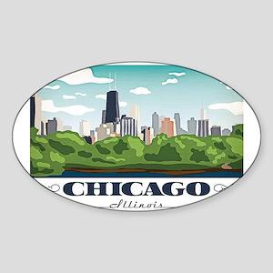 Chicago, Illinois Sticker
