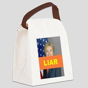 LIAR Canvas Lunch Bag
