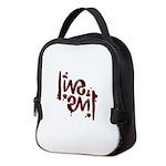 [ LIVE EVIL ] Ambigram Neoprene Lunch Bag