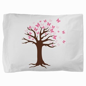 Butterfly Hope Tree Pillow Sham