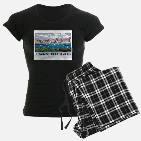 San Diego Skyline Pajamas