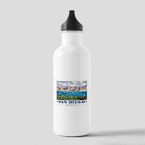 San Diego Skyline Stainless Water Bottle 1.0L