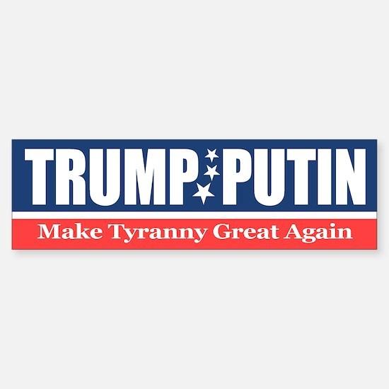Trump Putin Bumper Bumper Bumper Sticker