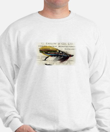 Farlow Salmon on Card Sweatshirt