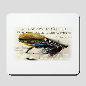 Farlow Salmon on Card Mousepad