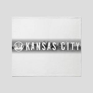 Kansas City, MO Throw Blanket