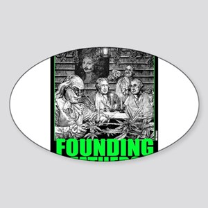 Founding Fathers (version 4) Sticker