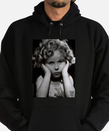 Shirley Temple Pout Hoodie (dark)