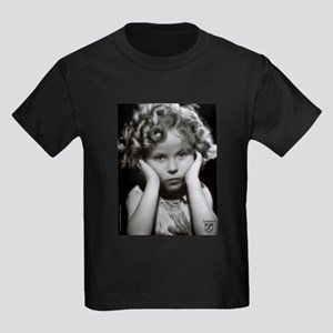 Shirley Temple Pout Kids Dark T-Shirt
