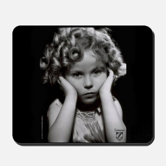 Shirley Temple Pout Mousepad