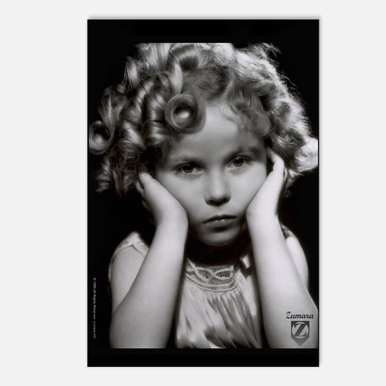 Shirley Temple Pout Postcards (Package of 8)