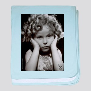Shirley Temple Pout baby blanket