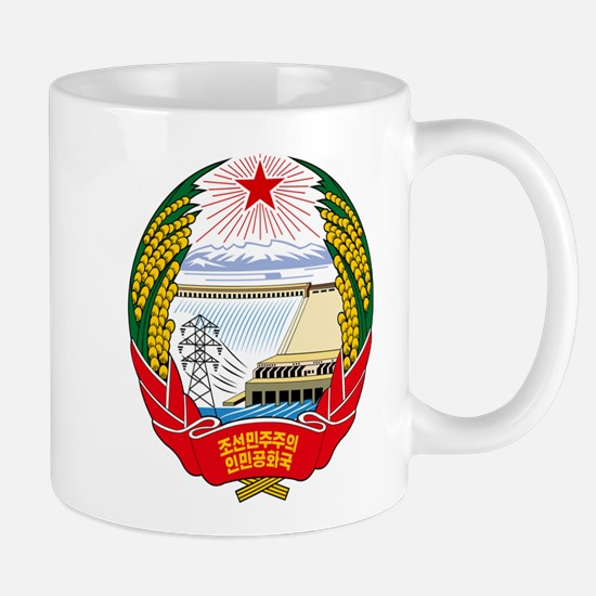 DPRK (North Korea) Emblem Mugs