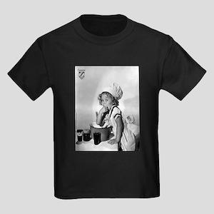 Shirley Temple Baking Kids Dark T-Shirt