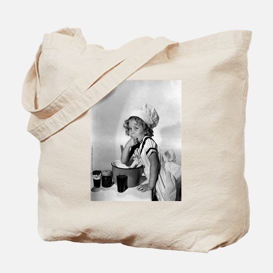 Shirley Temple Baking Tote Bag