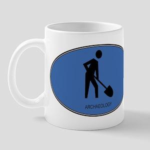 Archaeology (euro-blue) Mug