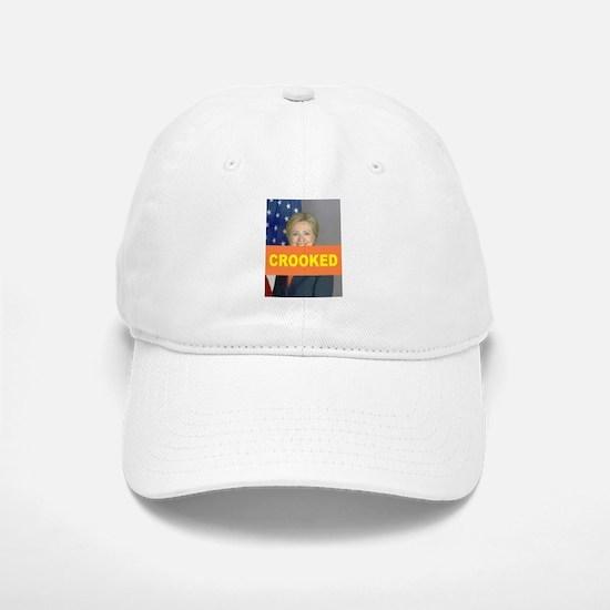 Crooked Hillary Baseball Baseball Baseball Cap