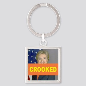 Crooked Hillary Keychains