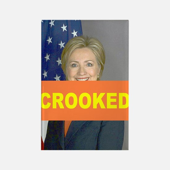 Crooked Hillary Magnets