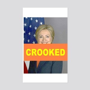 Crooked Hillary Sticker