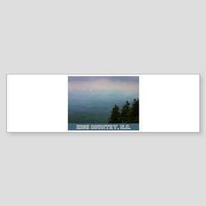 High Country North Carolina Bumper Sticker