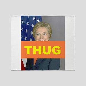 THUG Throw Blanket