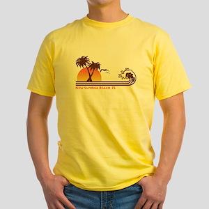 New Smyrna Beach FL Yellow T-Shirt