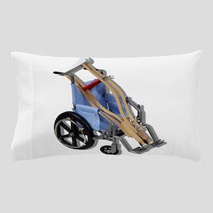 CrutchesWheelchair081210 Pillow Case