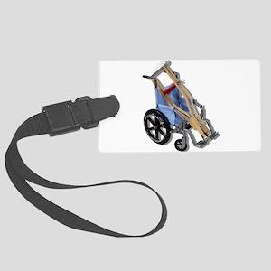 CrutchesWheelchair081210 Large Luggage Tag