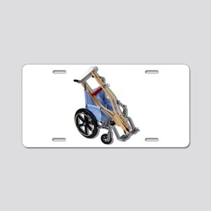 CrutchesWheelchair081210.pn Aluminum License Plate