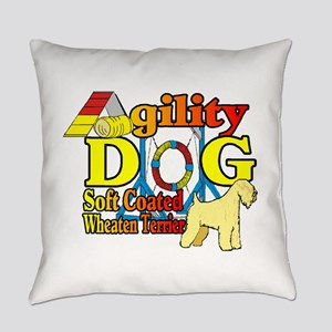 Wheaten Terrier Agility Everyday Pillow