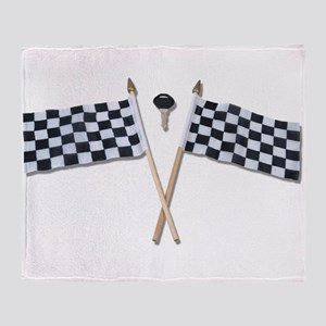 CrossingFinishingLine073110 Throw Blanket